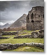 A Castle In The Mountains Metal Print