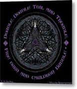 A Celtic Witches' Brew Metal Print