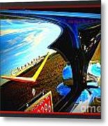 A Chevy Kind Of Day Metal Print