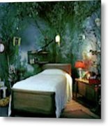 A Child's Bedroom Designed By William Riva Metal Print