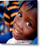 A Child's Smile Is One Of Life's Greatest Blessings Metal Print