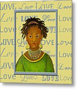 A Child's Whispers Of Love Metal Print by The Art With A Heart By Charlotte Phillips