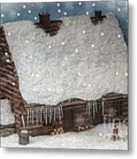 A Christmas In My Dreams Metal Print
