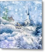 A Christmas To Remember Metal Print
