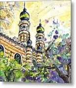 A Church In Budapest 01 Metal Print
