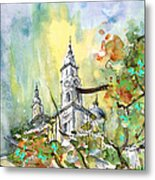 A Church In Budapest 02 Metal Print