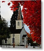 A Church In Historic Jacksonville Metal Print