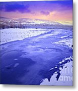 A Cold New Years Eve Metal Print