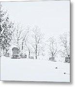 A Cold Palouse Metal Print