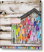 A Colorful Existence Metal Print by Danny Phillips