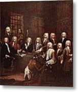 A Committee Of The House Of Commons Metal Print