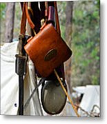 A Confederate Soldiers Life Metal Print