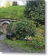 A Cosy Hobbit Home In The Shire Metal Print