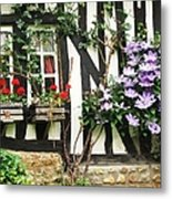 A Cottage In Normandy Metal Print
