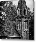 A Country Chuch's Bell Tower Metal Print