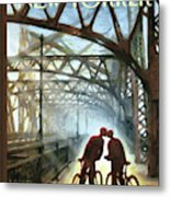Fifty Ninth Street Bridge Metal Print