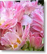 A Crowd Of Tulips Metal Print