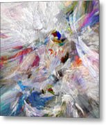 A Dance With Paint Metal Print