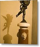 A Dancing Cupid In The Palazzo Vecchio Metal Print