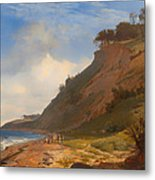 A Danish Coast Metal Print