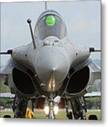 A Dassault Rafale Fighter Aircraft Metal Print