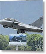 A Dassault Rafale Of The French Air Metal Print