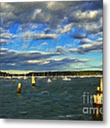 A Day At Oyster Bay Metal Print