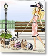 A Day At The Derby Metal Print