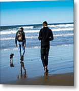 A Day At The Ocean Metal Print