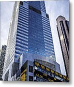 A Day In Ny02071557thstticker Metal Print