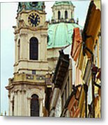 A Day In Prague Metal Print