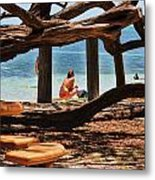a day in the Florida Keys Metal Print