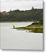 A Day Of Fishing 2 Metal Print