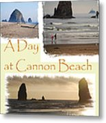 A Day On Cannon Beach Metal Print