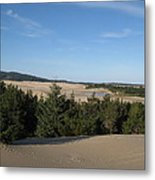 A Day On The Dunes Metal Print