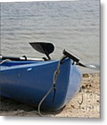 A Day On The Water Metal Print