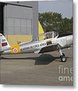 A Dhc-1 Chipmunk Trainer Aircraft Metal Print