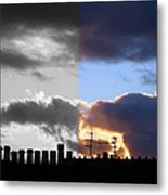 A difference of opinion Metal Print