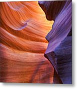 A Different Shade Metal Print
