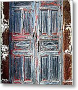 A Door Seldom Open Metal Print