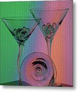 A Dry Martini Metal Print