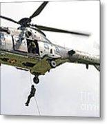 A Eurocopter As332 Super Puma Metal Print