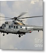 A Eurocopter As532 Cougar Of The Royal Metal Print