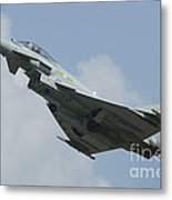 A Eurofighter Typhoon Of The Royal Air Metal Print