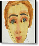 A Face In The Crowd Ventura Metal Print