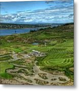 A Fairway To Heaven - Chambers Bay Golf Course Metal Print
