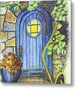 A Fairys Door Metal Print