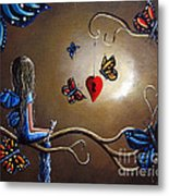 A Fairy's Heart Has Many Secrets Metal Print by Shawna Erback