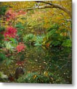 A Fall Afternoon Metal Print