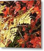 A Fall Day In New Hampshire Metal Print